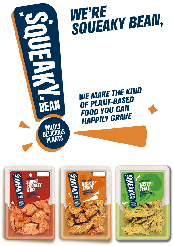 We're Squeaky Bean, Your new sidekick in the kitchen